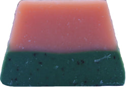 Grass Skirt Holiday Handmade Soap