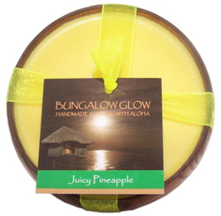 Juicy Pineapple Soy Poi Bowl Candle