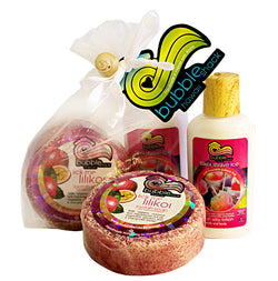 Lilikoi Shave Ice Mini Lotion and Loofah Soap Gift Set