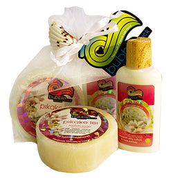 Pikake Lei Mini Lotion and Loofah Soap Gift Set