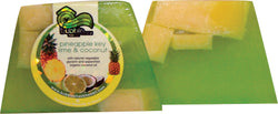 Pineapple Key Lime & Coconut Chunk Soap