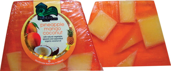 Pineapple Mango Coconut Chunk Soap