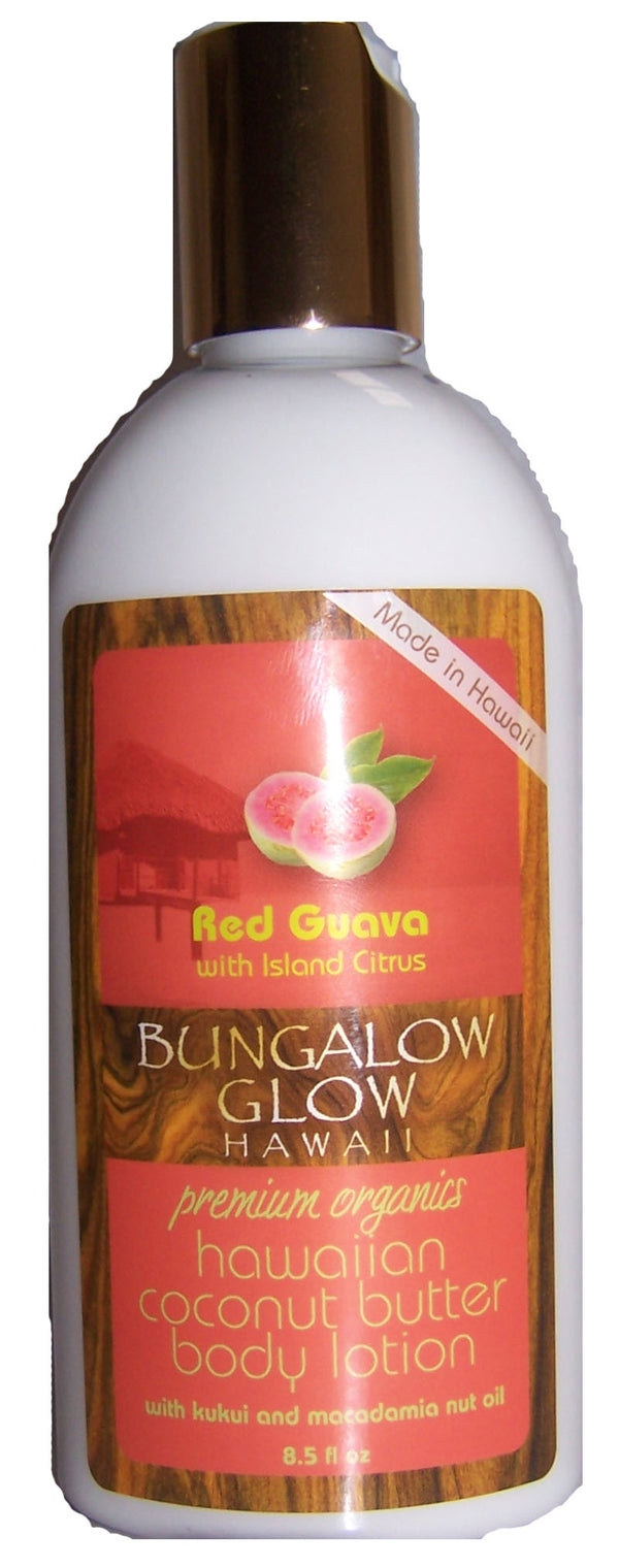 Red Guava with Island Citrus Coconut Butter Body Lotion 8.5oz