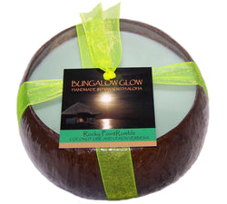 Rocky Point Rumble Coconut Shell Candle