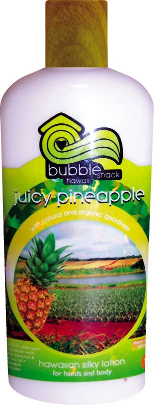 Juicy Pineapple Kukui + Shea Hawaiian Silky Lotion 8.5oz