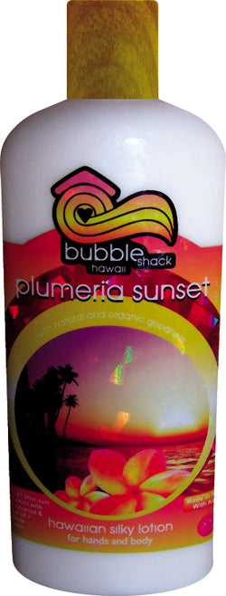 Plumeria Sunset Kukui + Shea Hawaiian Silky Lotion 8.5oz