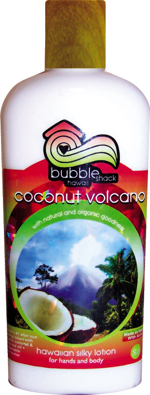 Coconut Volcano Kukui + Shea Hawaiian Silky Lotion 8.5oz