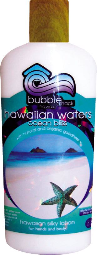 Hawaiian Waters Ocean Bliss Kukui + Shea Hawaiian Silky Lotion 8.5oz