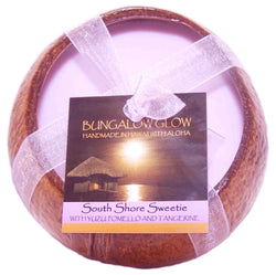 South Shore Sweetie Coconut Shell Soy Candle