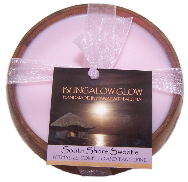 South Shore Sweetie Soy Poi Bowl Candle