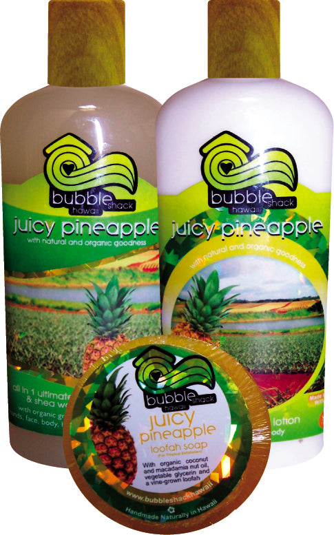 Juicy Pineapple Tropical Trio
