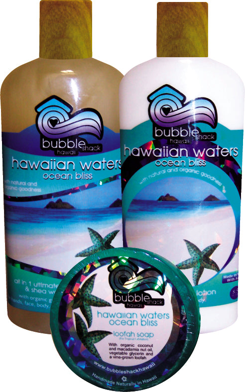Hawaiian Waters Ocean Bliss Tropical Trio