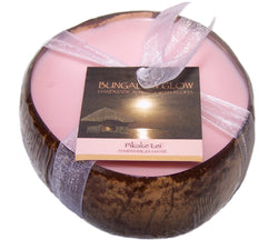 Pikake Lei Coconut Shell Soy Candle