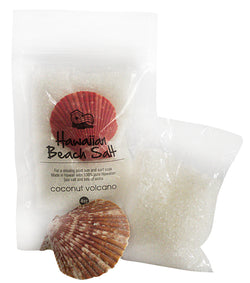 Coconut Volcano Hawaiian Beach Salt