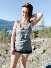 Load image into Gallery viewer, Vegan Mama Grey Racerback Tank