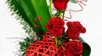edmonton flowers, order flowers, flower delivery - roses, red roses
