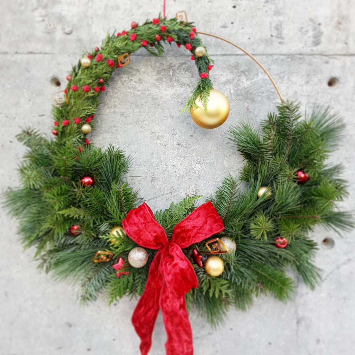 Whoville Wreath