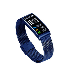 Ip68 Waterproof Smart Fitness Bracelet Pedometer Blood Pressure Fitness Tracker