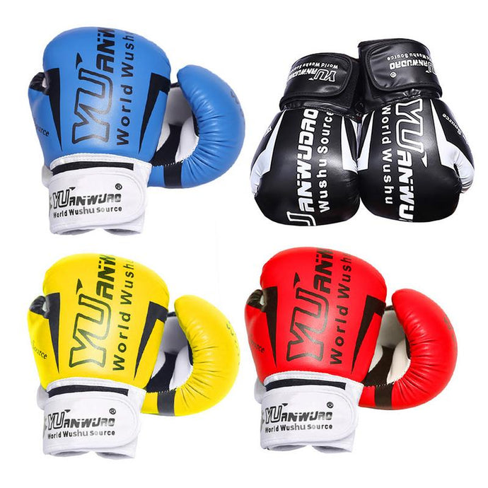 Children Adults Boxing Gloves Sport Gear PU Karate Muay Thai Guantes De Boxeo Sandbag Punch Training Kids Boxe Boxing Equipment