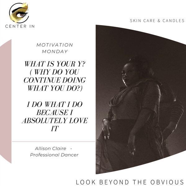 Monday Motivation - Meet Allison Claire