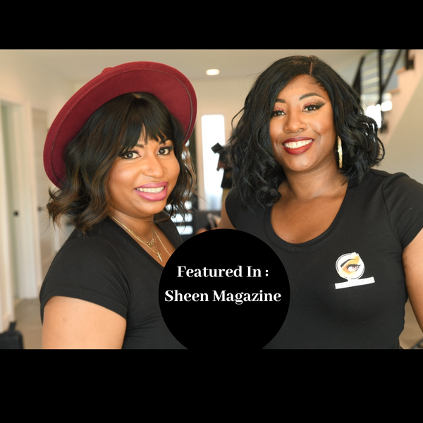 Sheen Magazine Interview : Team of Two Black Women Gets Positive Review for Vegan Cosmetic Brand, Center IN