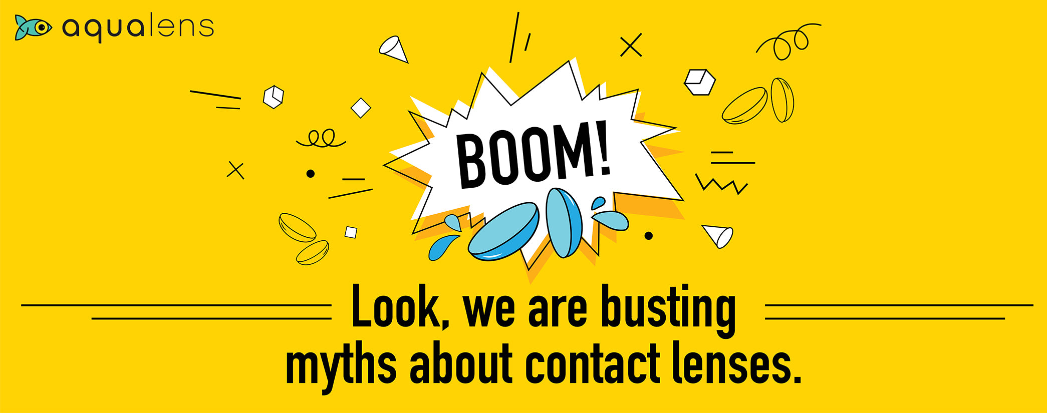 Busting myths about contact lenses