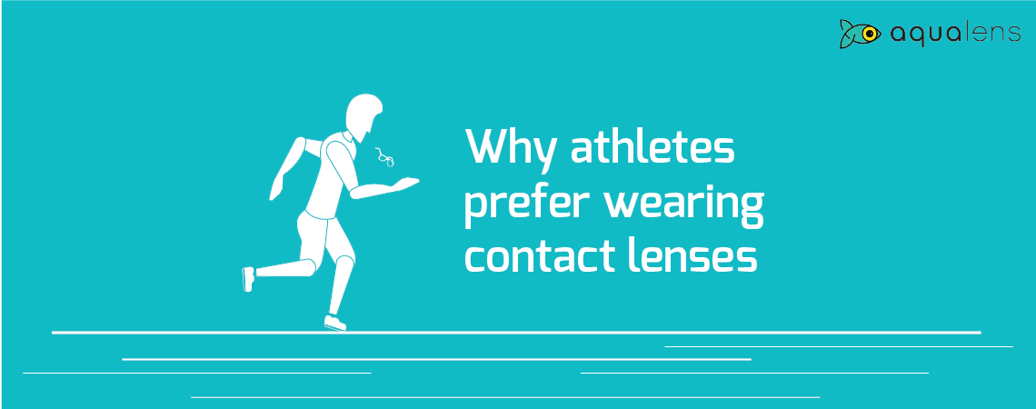 Reasons Why Athletes Prefer Wearing Contact Lenses