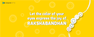 This RakshaBandhan, Let's Color Your Joy of Togetherness With Aqualens Color Contacts