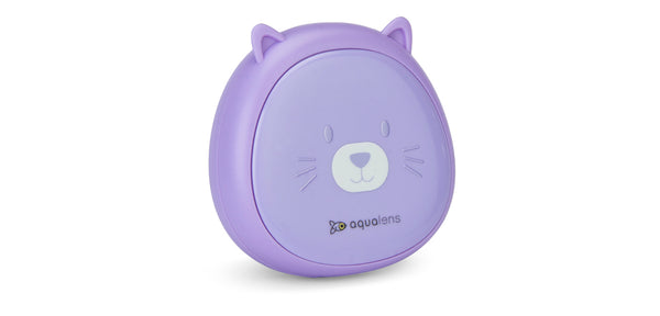 Purple K1901 Designer Contact Lens Case
