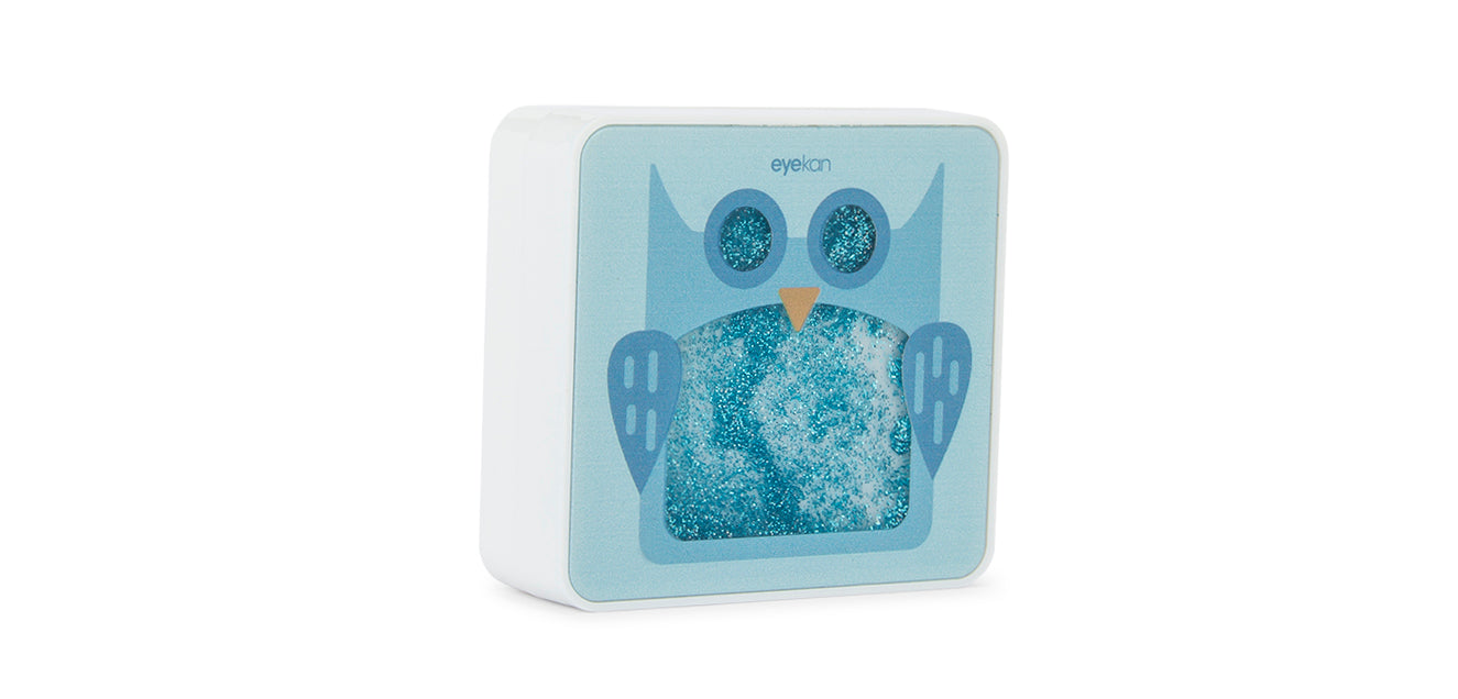 Aqualens Owl K1826 Contact Lens Designer Case(1 Picker, 1 Solutions Bottle, 1 Lens Kit & Outer Box)