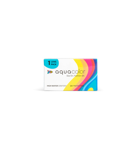 Aquacolor eye lens color 1 lens pack