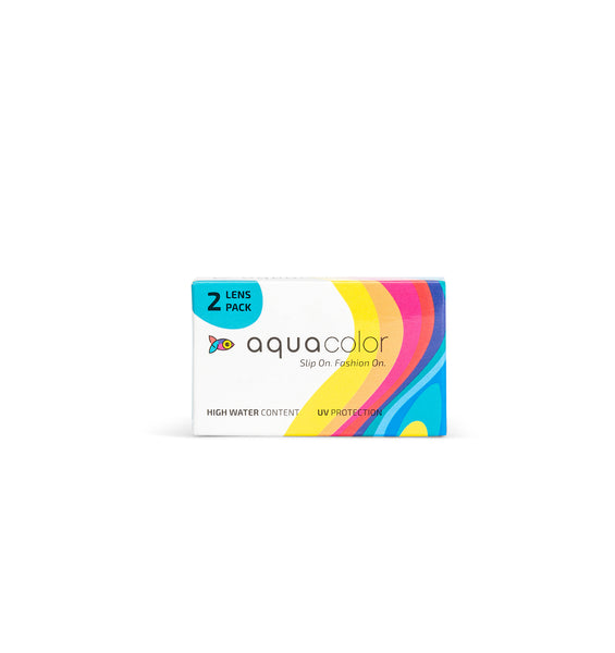Aquacolor eye lens color 2 lens pack