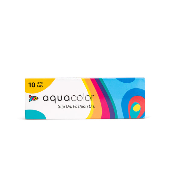Aquacolor colored contact lenses 10 Lens pack