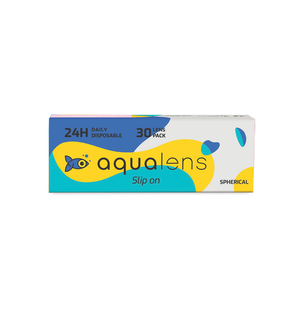 Aqualens 24H  Daily Disposable  (30 Lens Pack)