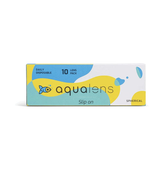 Aqualens Daily Disposable Contact Lenses (10 Lens Pack)