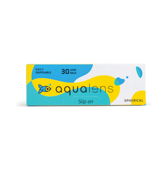 Aqualens Daily Disposable Contact Lenses (30 Lens Pack)