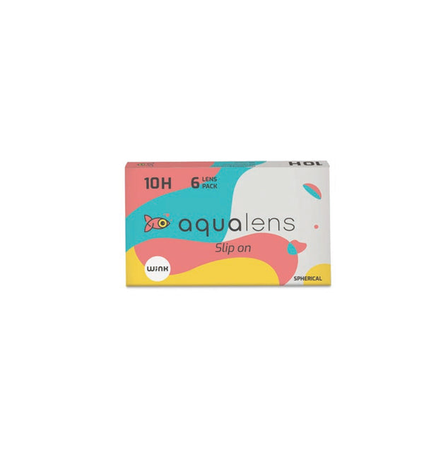 Aqualens 10H contact lenses 6 lens pack