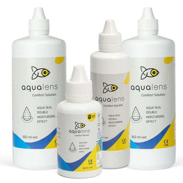 Aqualens Comfort Contact Lens solution bundle pack 900ml