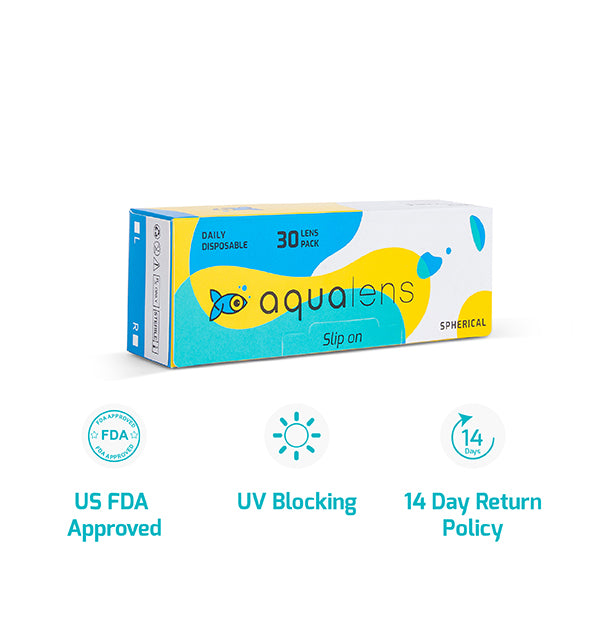 Aqualens Daily disposable 30 contact lenses pack