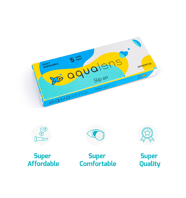 Aqualens Daily disposable 5 contact lens pack