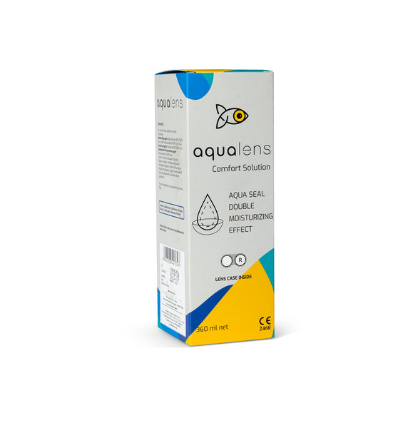 Aqualens 360 ml comfort contact lenses solution