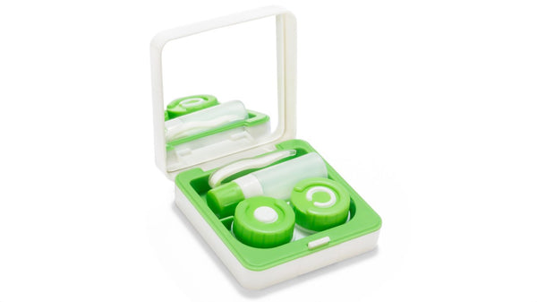 Aqualens lens case for contact lenses
