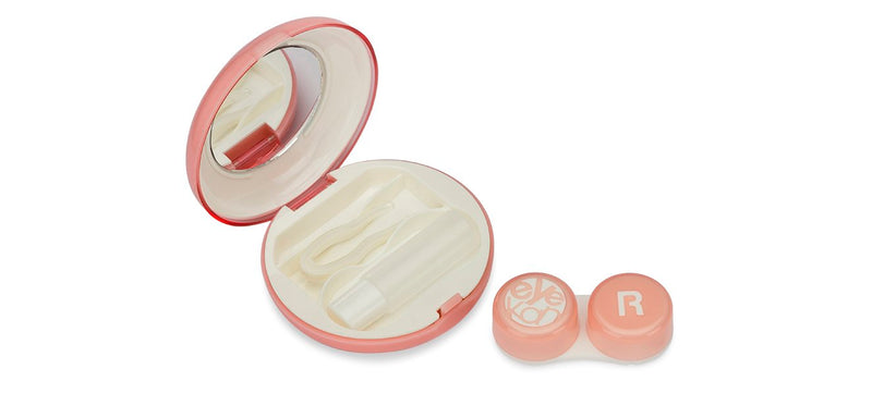 Aqualens  K-1513 Macaroon Light Pink Contact Lens_KIT ( 1 Picker, 1 Solutions Bottle, Lens_KIT & Outer Box )