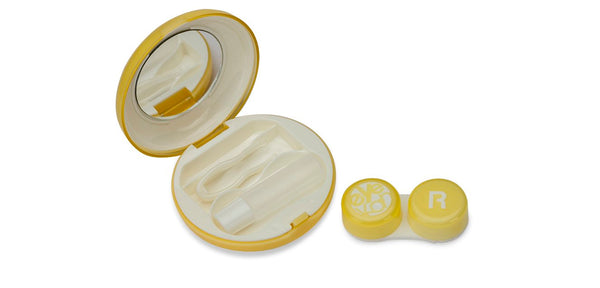 Aqualens  K-1513 Macaroon Yellow Contact Lens_KIT ( 1 Picker, 1 Solutions Bottle, Lens_KIT & Outer Box )