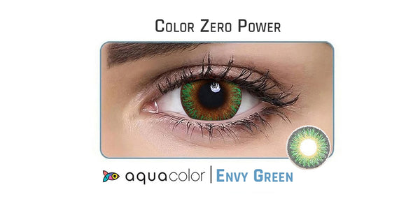 Aquacolor Daily - 2 Lens/Pack (Zero Power)