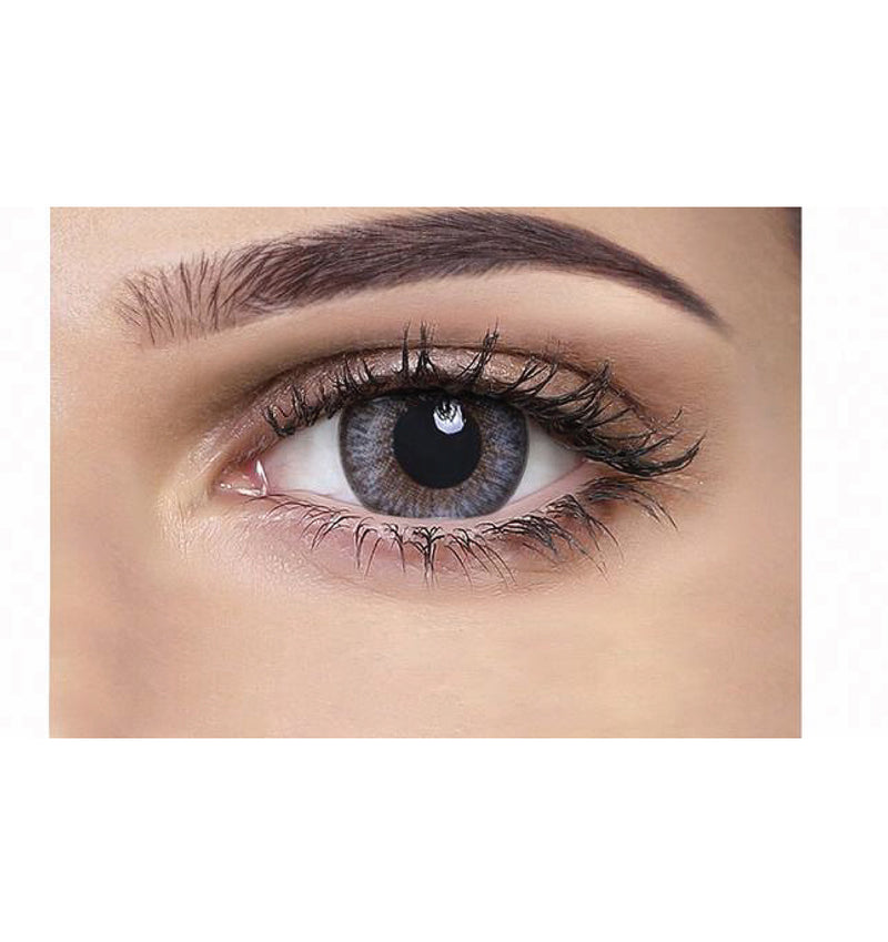 Aquacolour spicy grey coloured contact lens