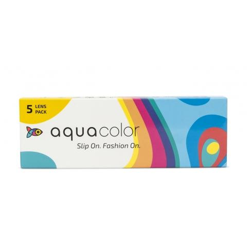 Aquacolor Dailies - Power Color Contact Lenses (5 Lens Pack)