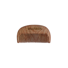 Load image into Gallery viewer, Wooden Neem Comb Narrow Tooth - greentradingaustralia