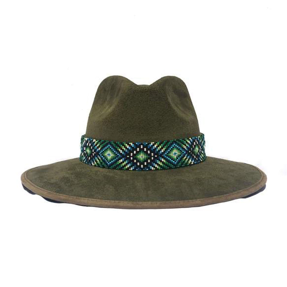 Olive Indiana Hat