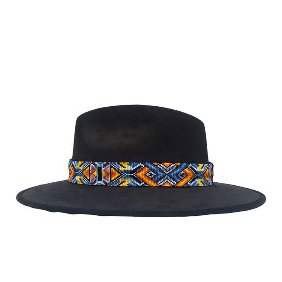 Black Indiana Hat